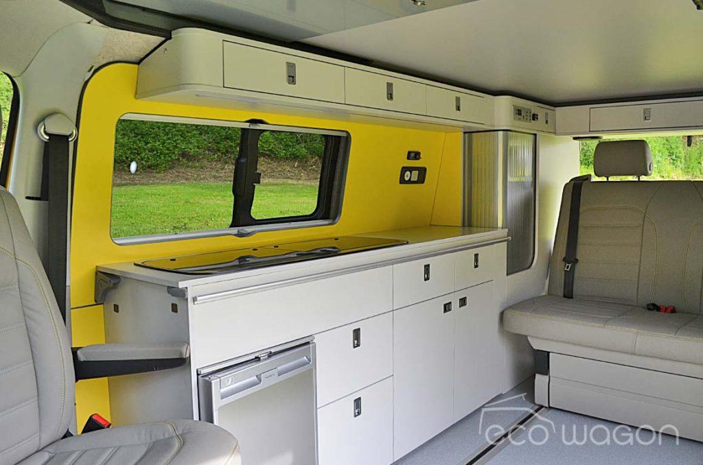 Mellow Yellow VW Transporter