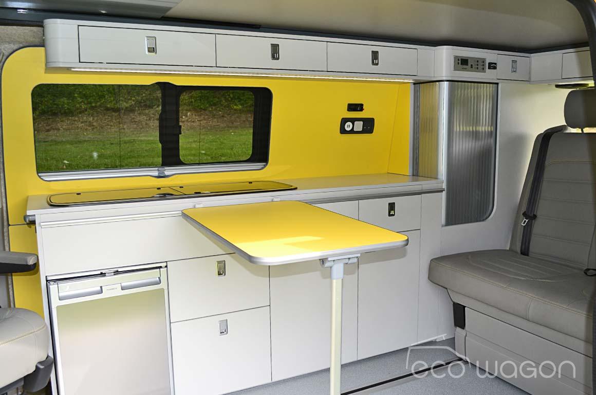 Minimalist VW Interior