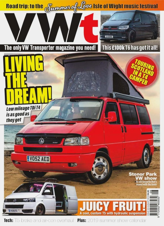 VWt Magazine August 2019 T4 Conversion