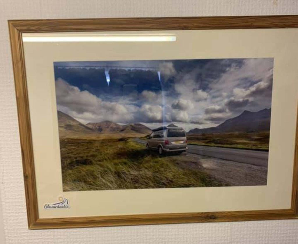 Glovantastic Framed Picture VW T6