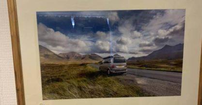 Glovantastic Framed Picture VW T6