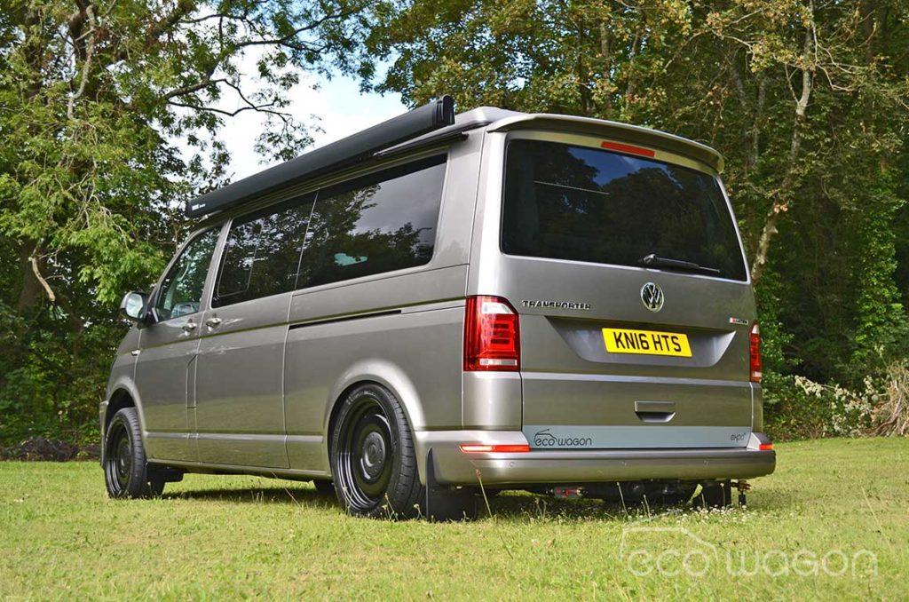 Best VW T6 Custom Camper with powered coated steel wheels