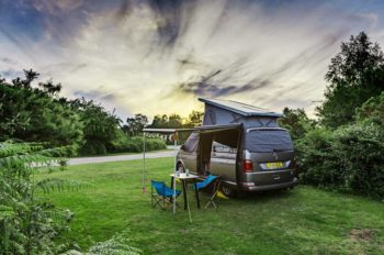 Camping In A T6