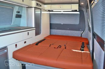 VW Conversion Leather Bed