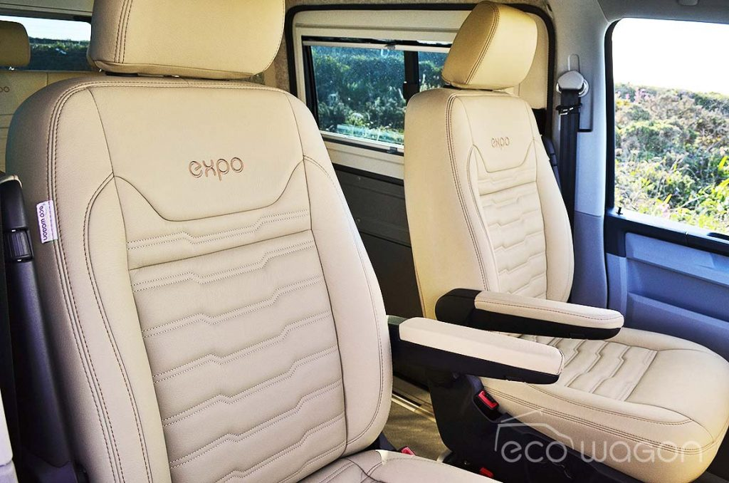 VW Transporter Conversion Cream Leather