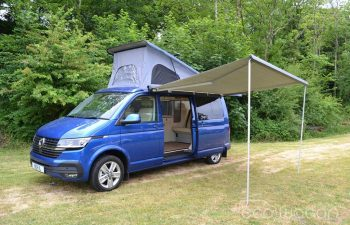 Ecowagon Campervan Conversion Blue