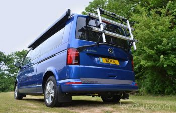 Ecowagon Campervan Conversion Blue Rear