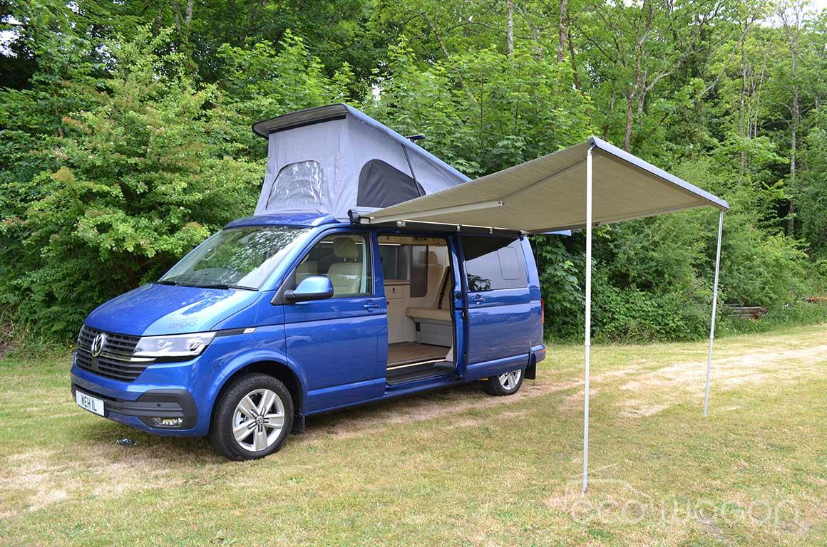 Ecowagon Campervan Conversion Blue