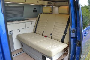 Campervan Conversion Interior Seats