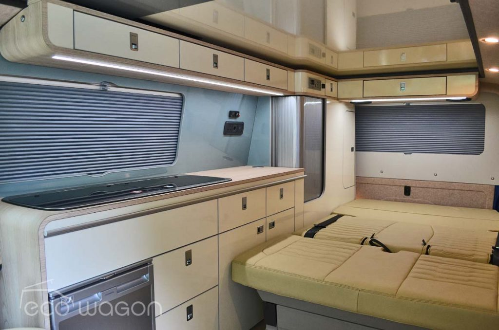 Campervan Conversion Leather Interior