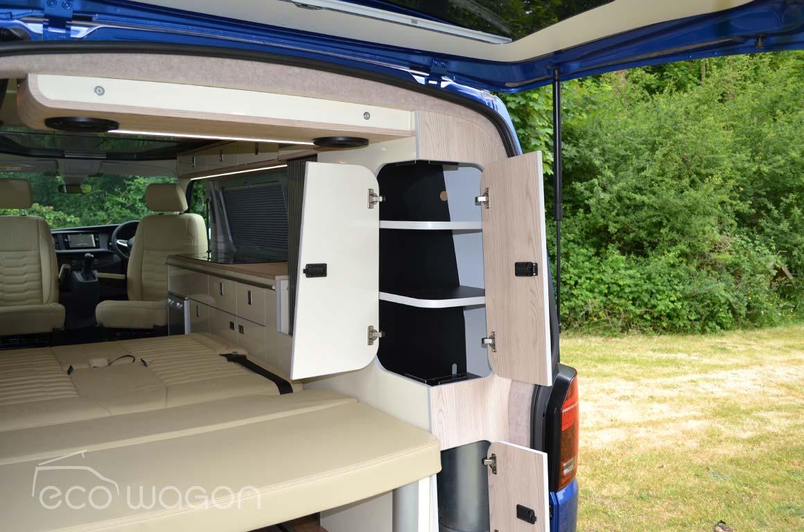 Campervan Conversion Lockers