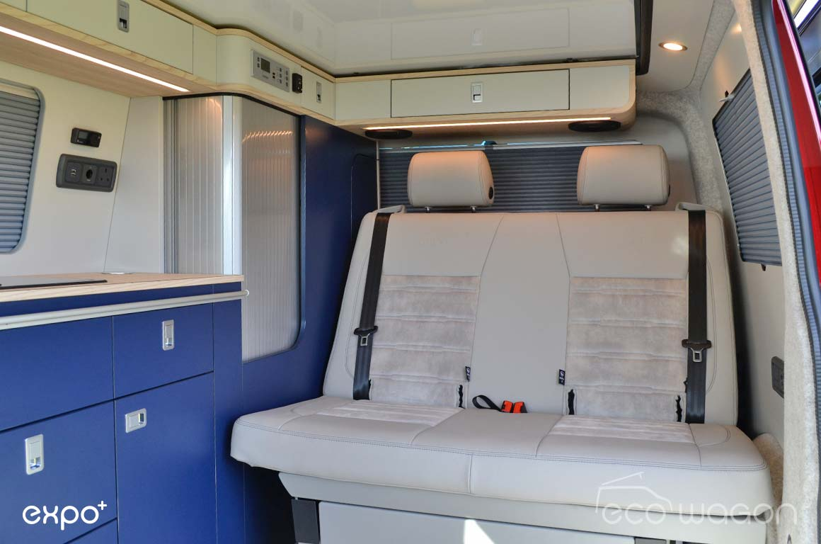 Ecowagon Expo Plus Camper Conversion Interior 2