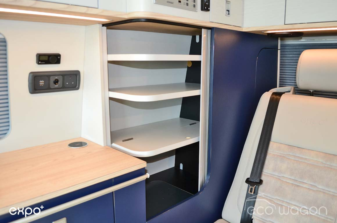 Ecowagon Expo Plus Camper Conversion Interior 3