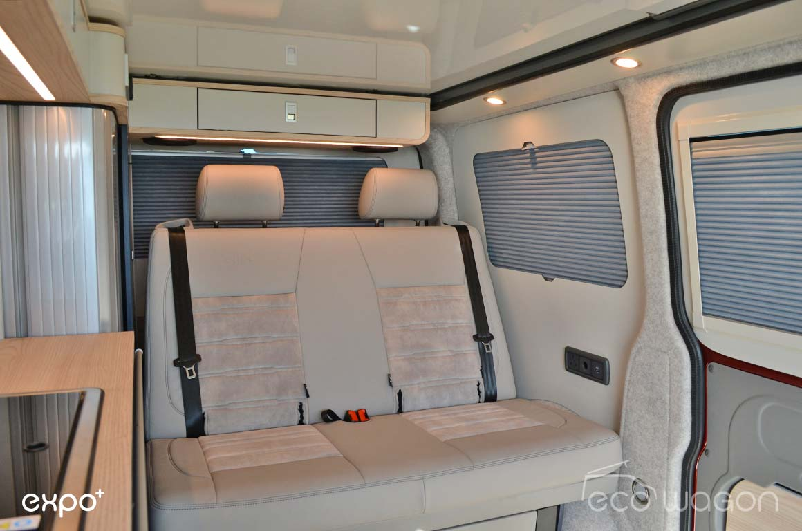 Ecowagon Expo Plus Camper Conversion Interior 4