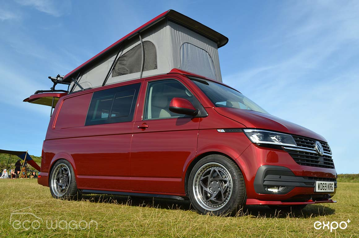 Fortuna Red VW Camper Conversion