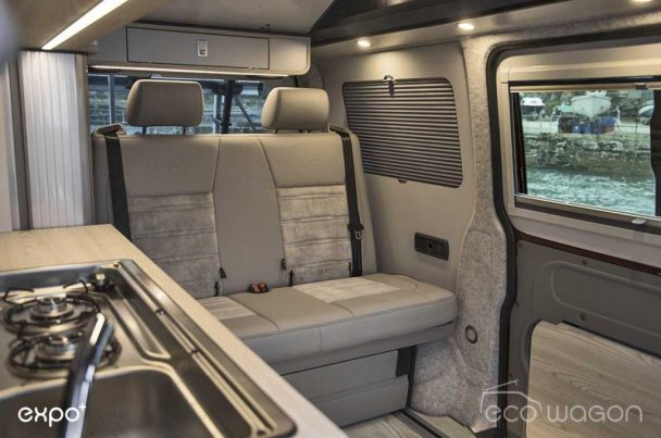 VW Transporter T6 Camper Interior