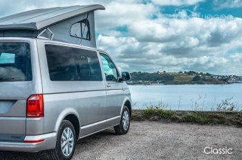 Classic Camper Van Views