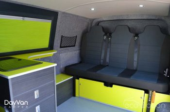 Ecowagon Day Van Camper Interior