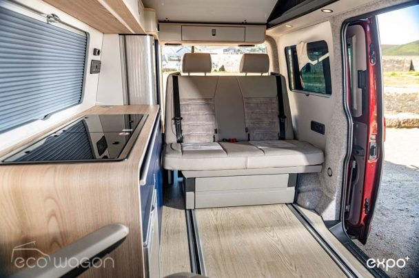 Ecowagon Expo Plus Demo Van Interior