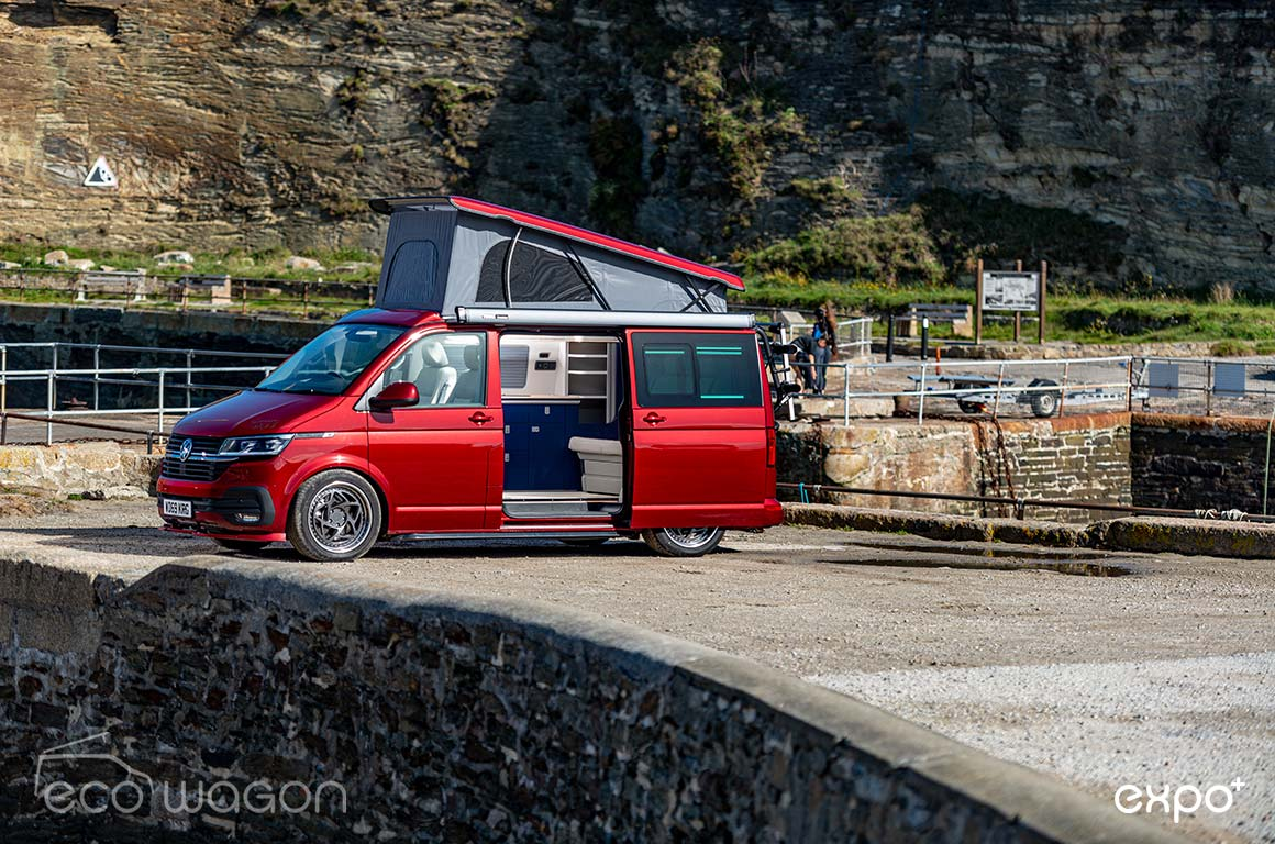 We think the Fortuna Red paint finish is just gorgeous, the van changes colour in different lighting conditions.