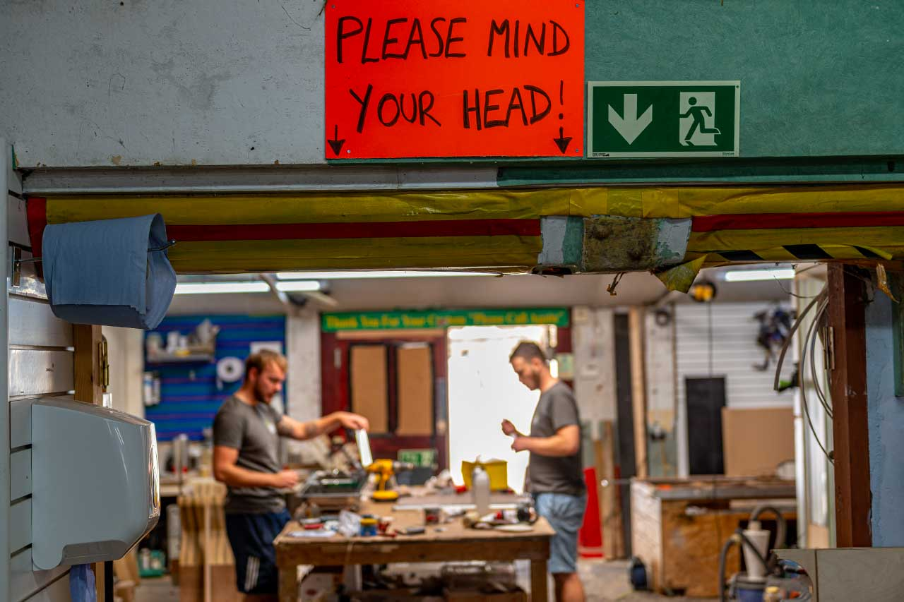 Seriously, Mind Your Head
