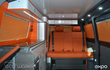 Volkswagen T6 Conversion Orange Leather