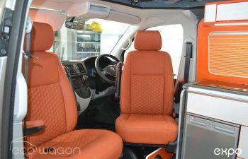 Volkswagen T6 Conversion Orange White