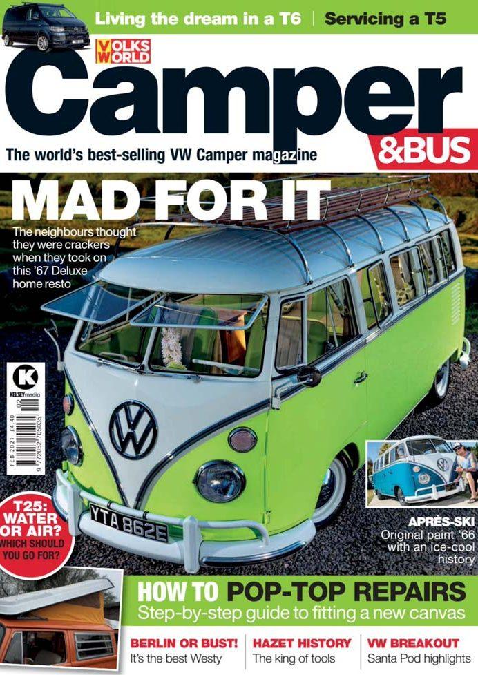 Volksworld Camper Bus February 2021