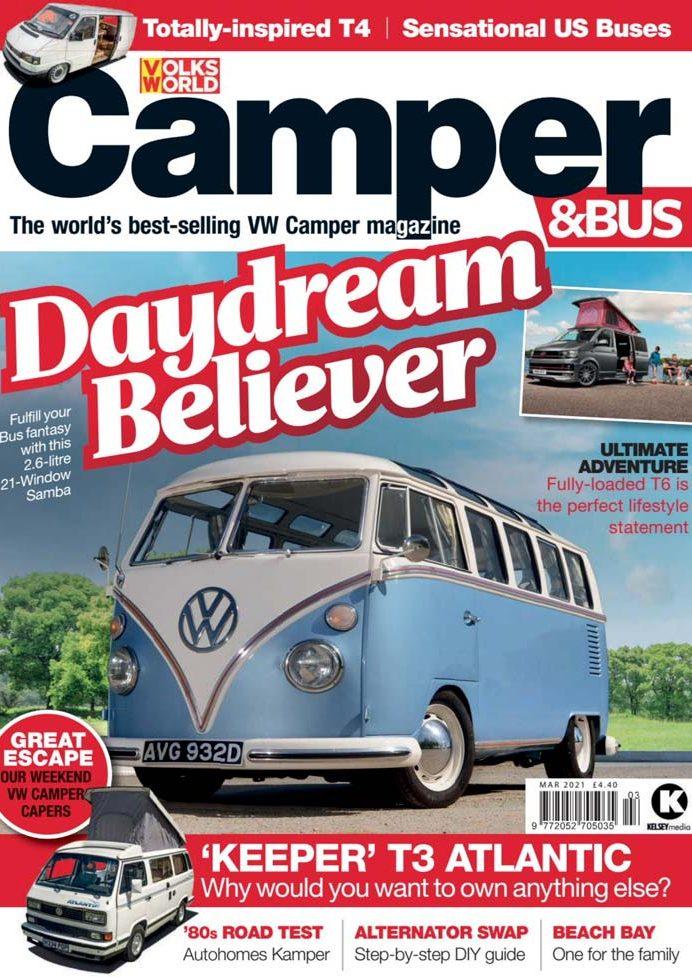 Volksworld Camper Bus March 2021