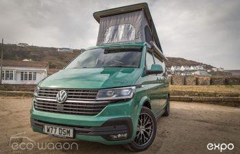 Volkswagen T6 Transporter Conversion Green 10