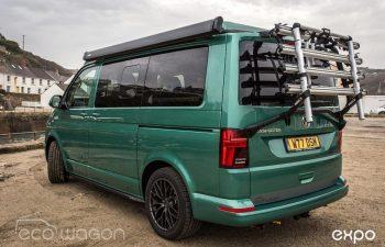Volkswagen T6 Transporter Conversion Green 2