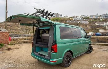 Volkswagen T6 Transporter Conversion Green 4