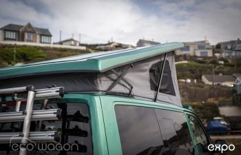 Volkswagen T6 Transporter Conversion Green 6
