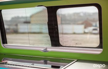 Volkswagen T6 Conversion Blue And Green Interior 20