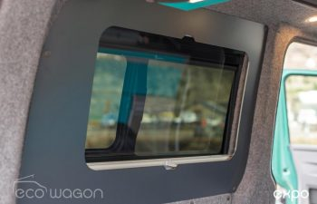 Volkswagen T6 Conversion Blue And Green Interior 24