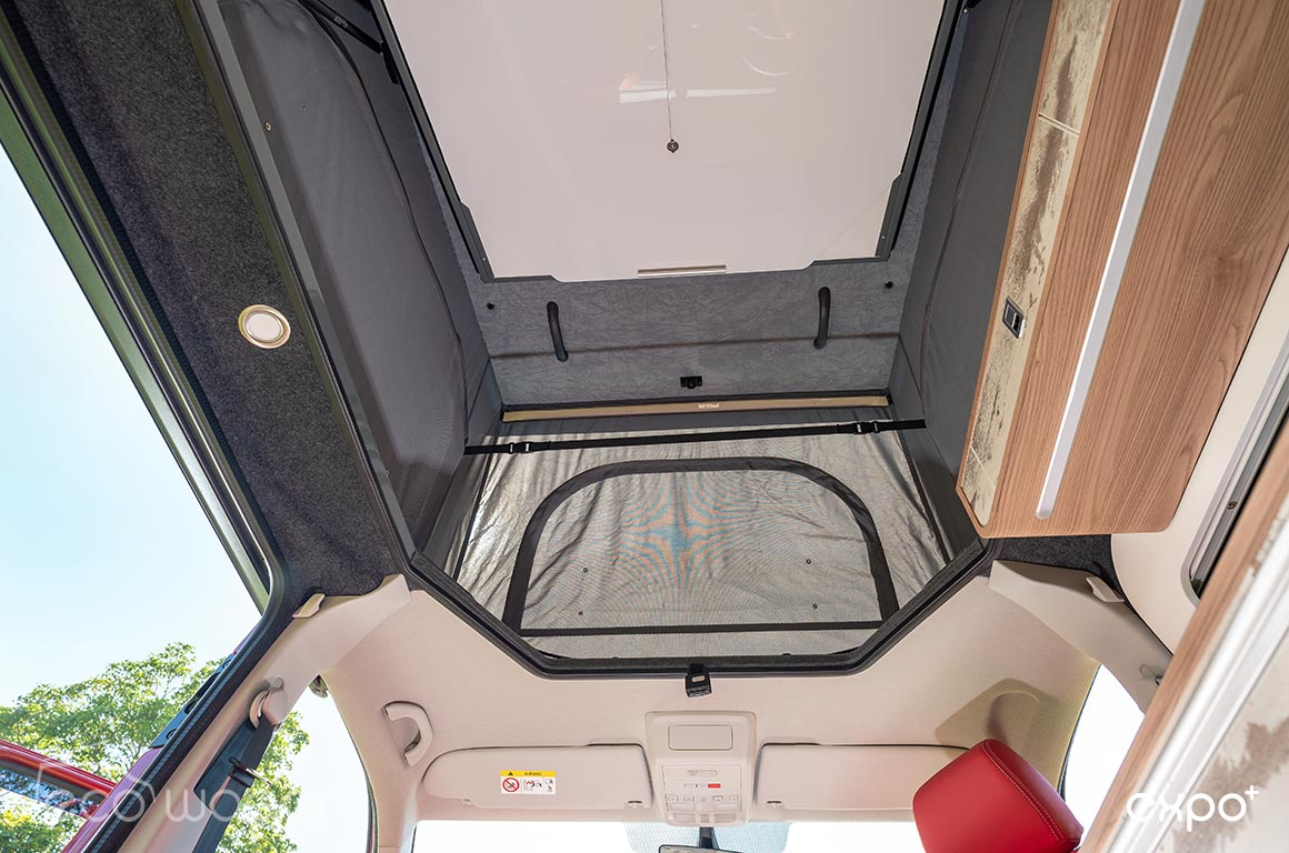 Ecowagon Pop Top With Roof Bed