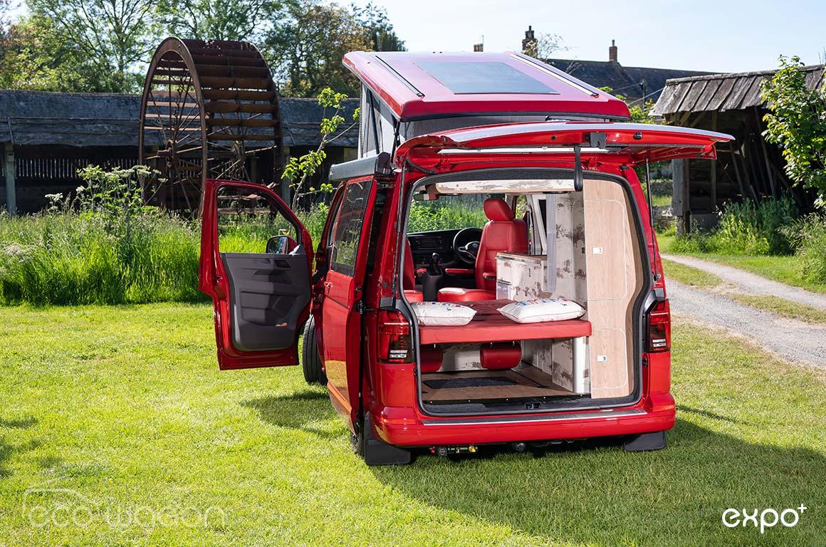 Red T6.1 Camper