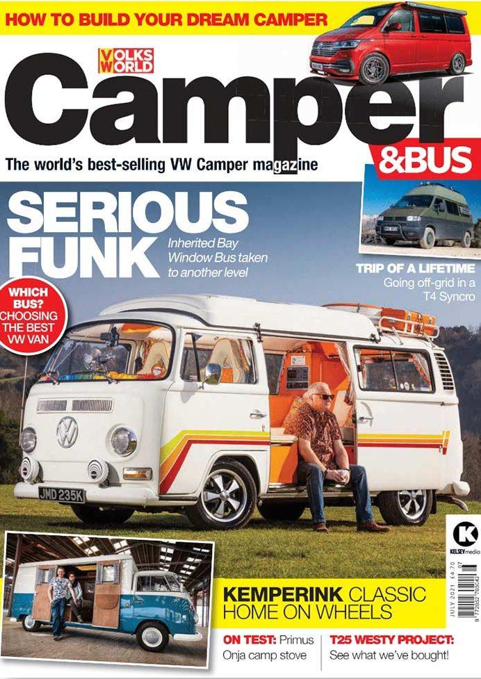 Volksworld Camper Bus July 2021